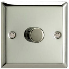 Varilight V-Pro 1 Gang 2-Way 1x400W Dimmer Switch - Classic Mirror Chrome - JCP401