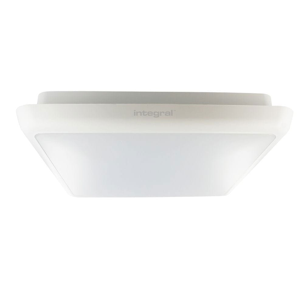 Integral 12W Slimline Ceiling/Wall Light IP54 Cool White - ILBHD021