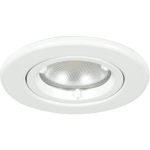Megaman LEORA GU10 Fire Rated Fixed Downlight Fixture Only White - 518349