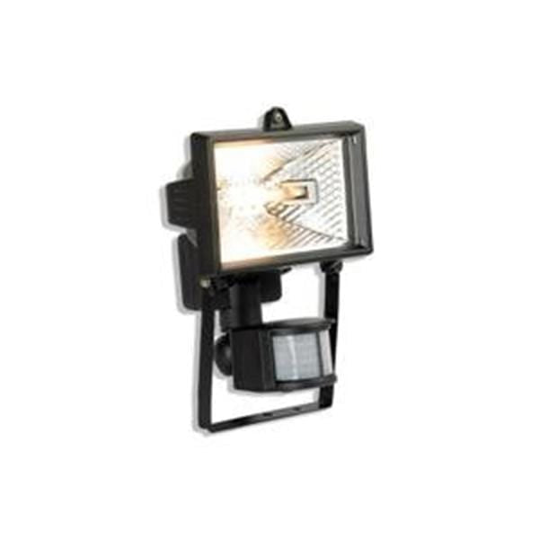 Aurora 150W  IP54 Floodlight with PIR Square Black - AU-PFL200BLK
