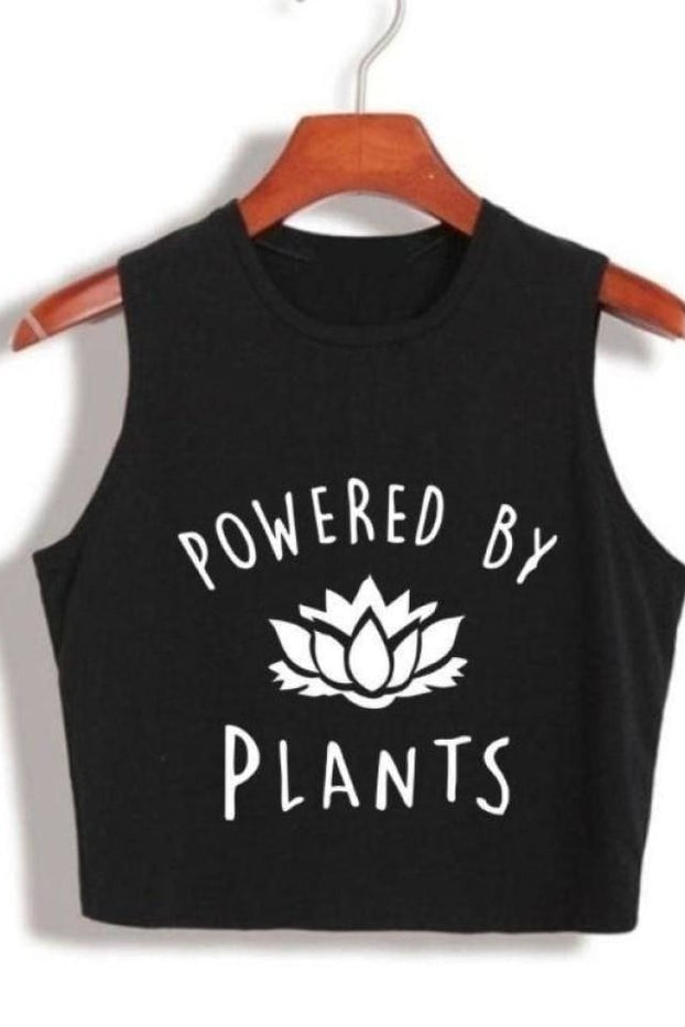 Power By Plants Crop Top