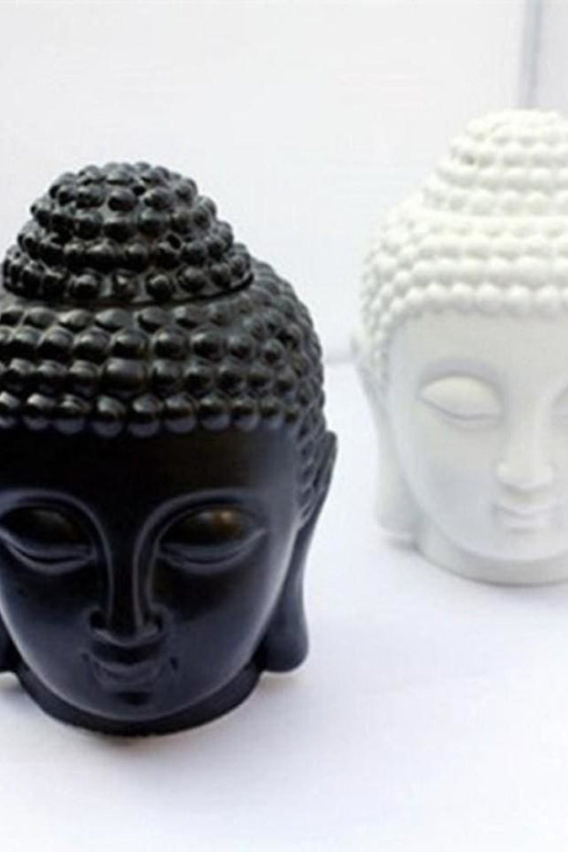 Buddha Candle Aromatherapy Furnace Ceramic Aromatherapy Lamp Candle Aroma Furnace Oil Lamp Essential Oil Burner Home Decor Gifts -
