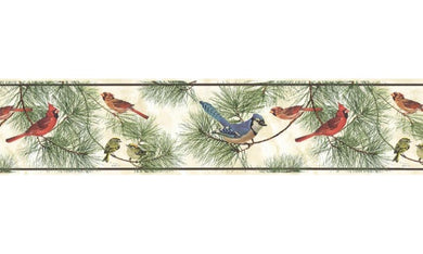 Birds GL76350 Wallpaper Border