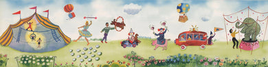 Outdoor Circus Kids 110033 Wallpaper Border