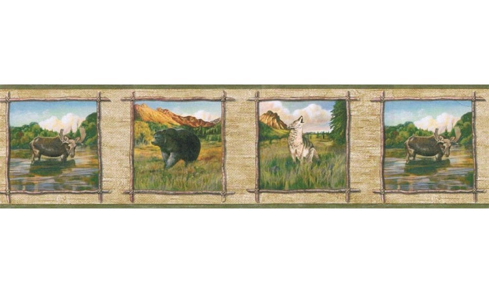 Animals TA39021B Wallpaper Border