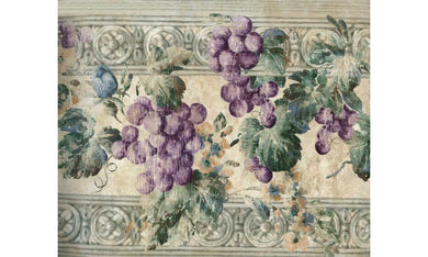 Violet Grapes KH6000 Wallpaper Border