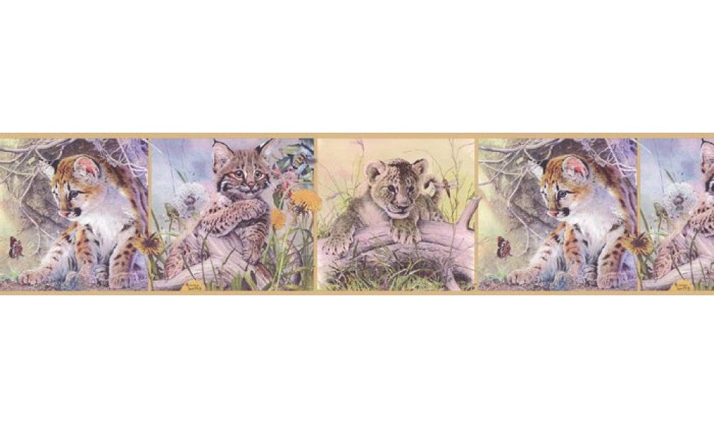 Animals B76371 Wallpaper Border