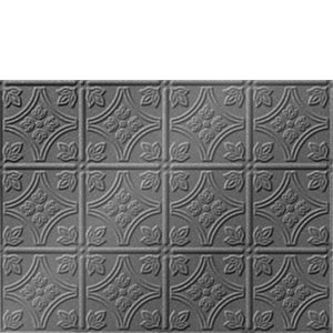 Backsplash Tile Savannah Argent Silver