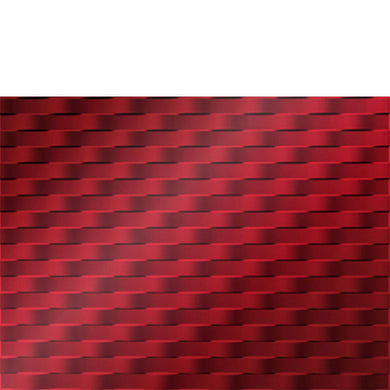 Backsplash Tile Weave Mirror Red