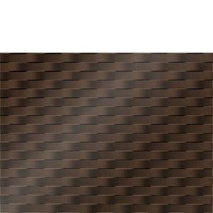 Backsplash Tile Weave Argent Bronze