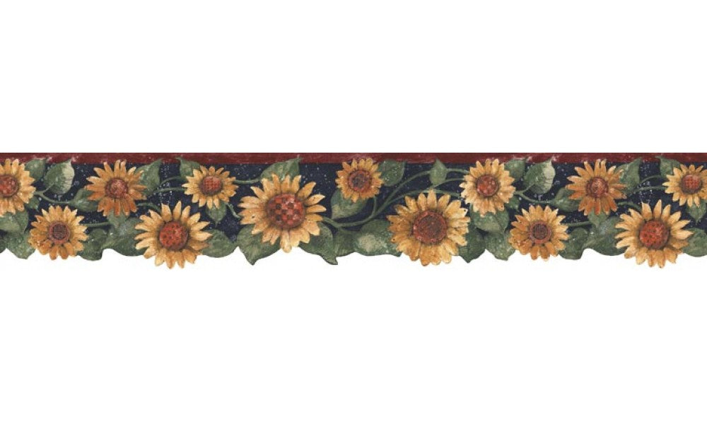 Sunflowers B75417 Wallpaper Border