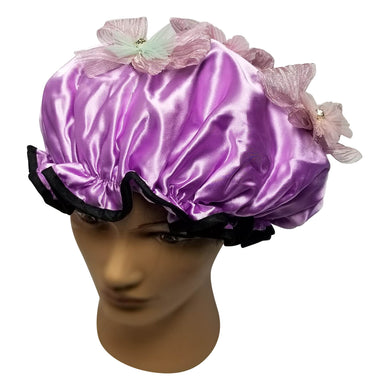 Lavender Wind Designer Shower Cap