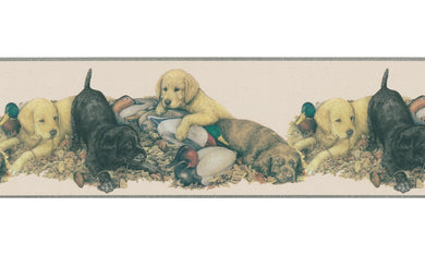 Dogs  DU2081B Wallpaper Border