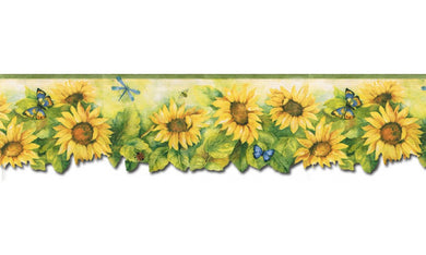 Sunflowers BG71361DC Wallpaper Border