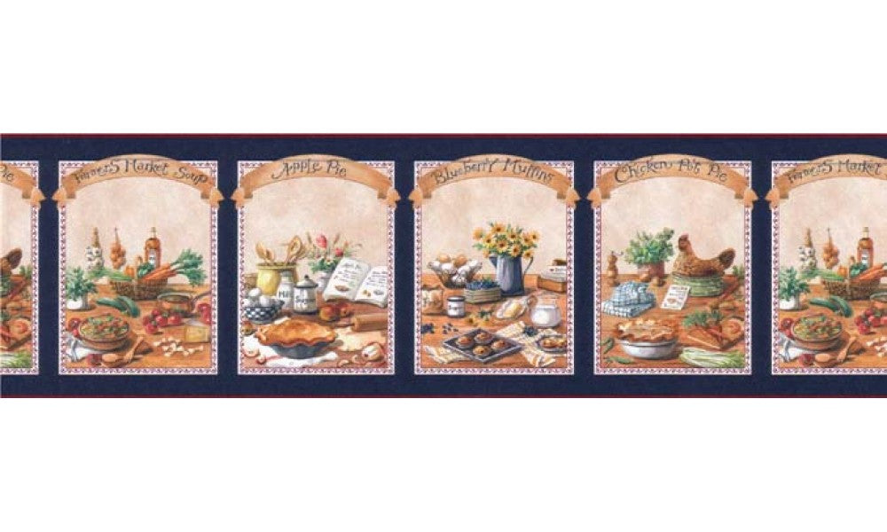 Kitchen B49529 Wallpaper Border Gifted Parrot