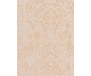 Baroque Textured Damask Metallic Beige 290571 Wallpaper