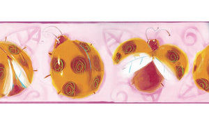 Ladybug BT2917 Wallpaper Border