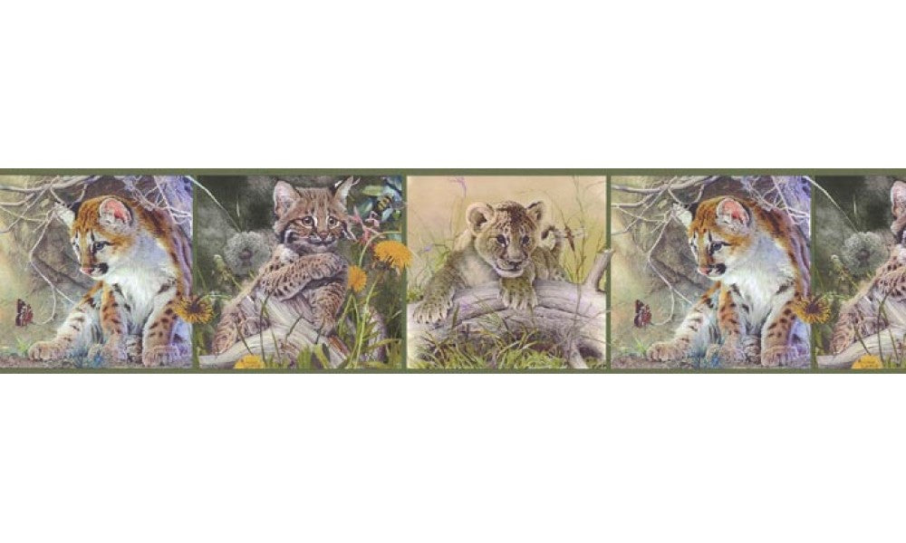 Animals B76372 Wallpaper Border