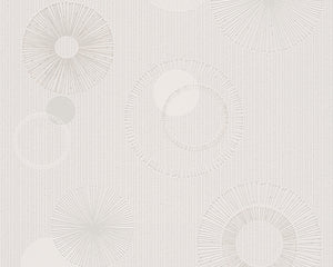 Cream Metallic Spot 3 302872 Wallpaper