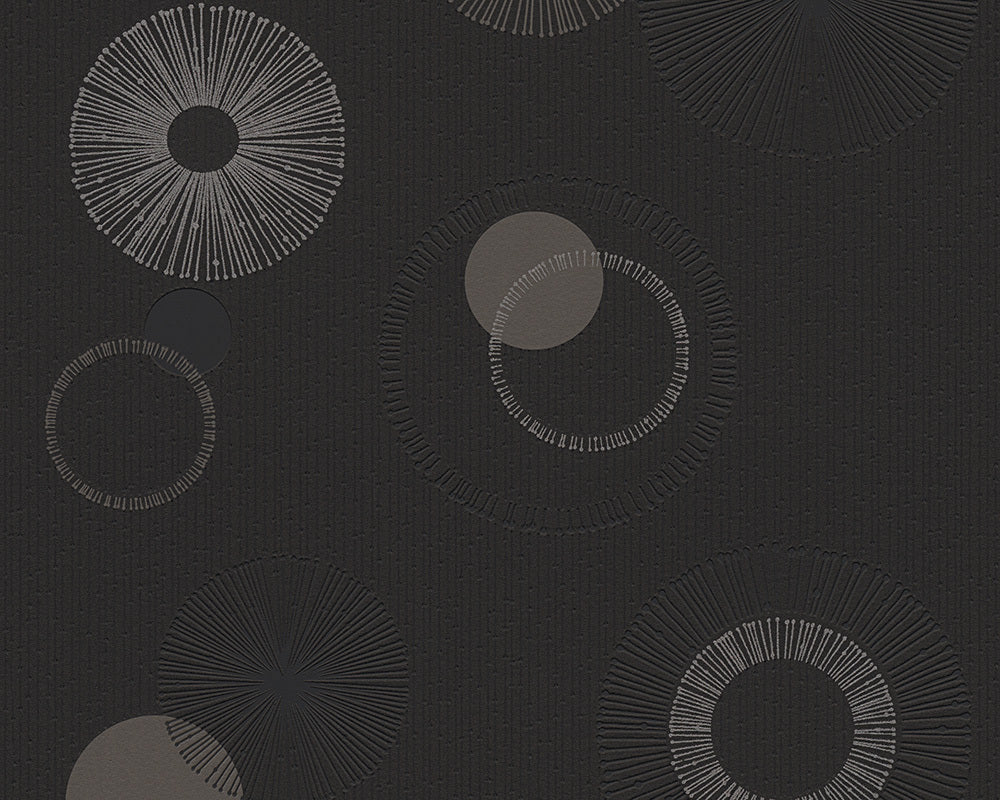 Metallic Black Spot 3 302873 Wallpaper