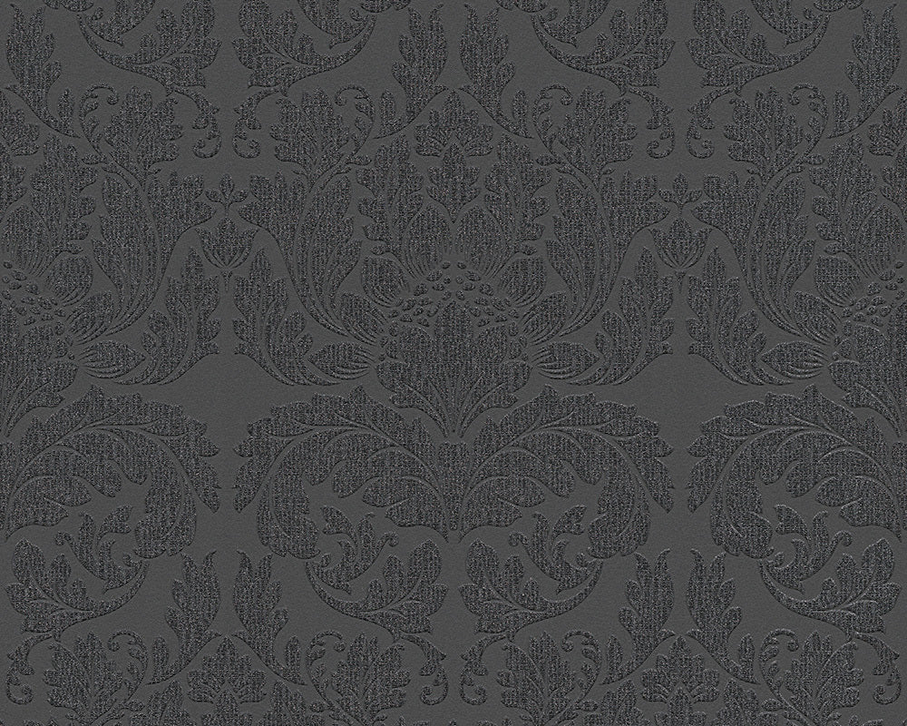 Metallic Black METROPOLIS 2 303965 Wallpaper