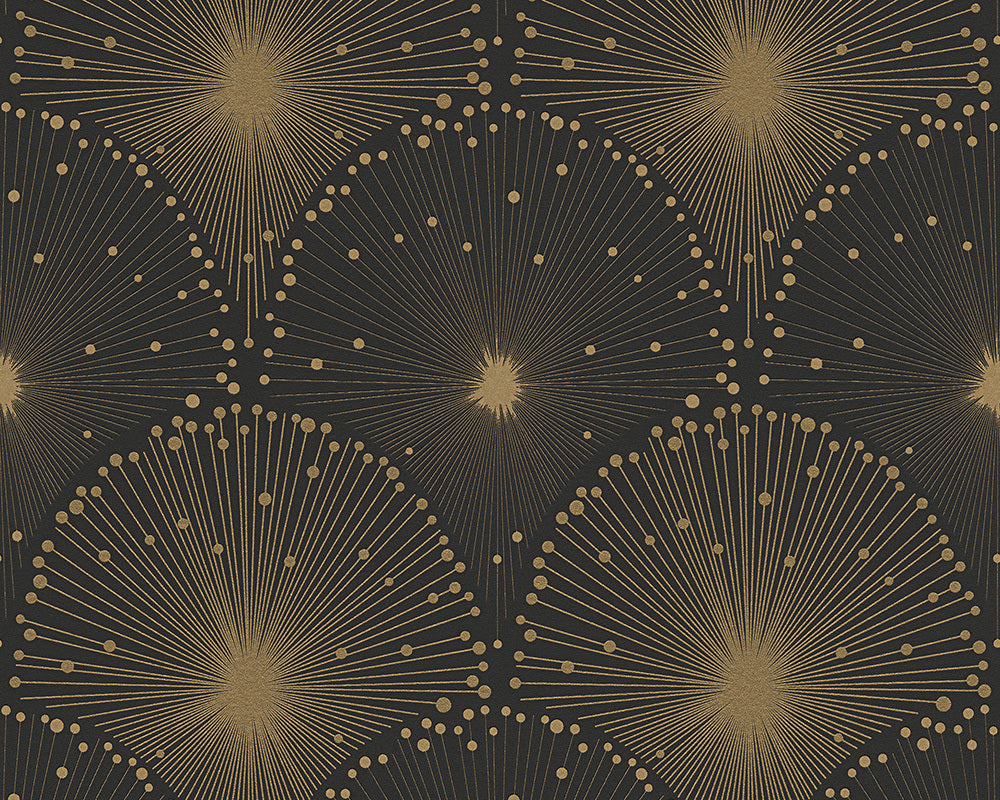 Metallic Black Spot 3 305531 Wallpaper
