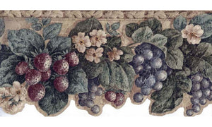 Floral Fruit Acanthus 5811270 Wallpaper Border