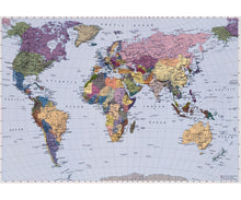 Load image into Gallery viewer, World Map 4-050 Wall Mural