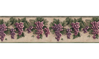 Grape Fruits B828VC Wallpaper Border
