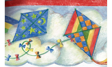Flying Kites SU75900DC Wallpaper Border