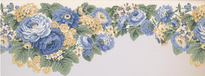 Blue and Canary Yellow Flowers 5506320 Wallpaper Border