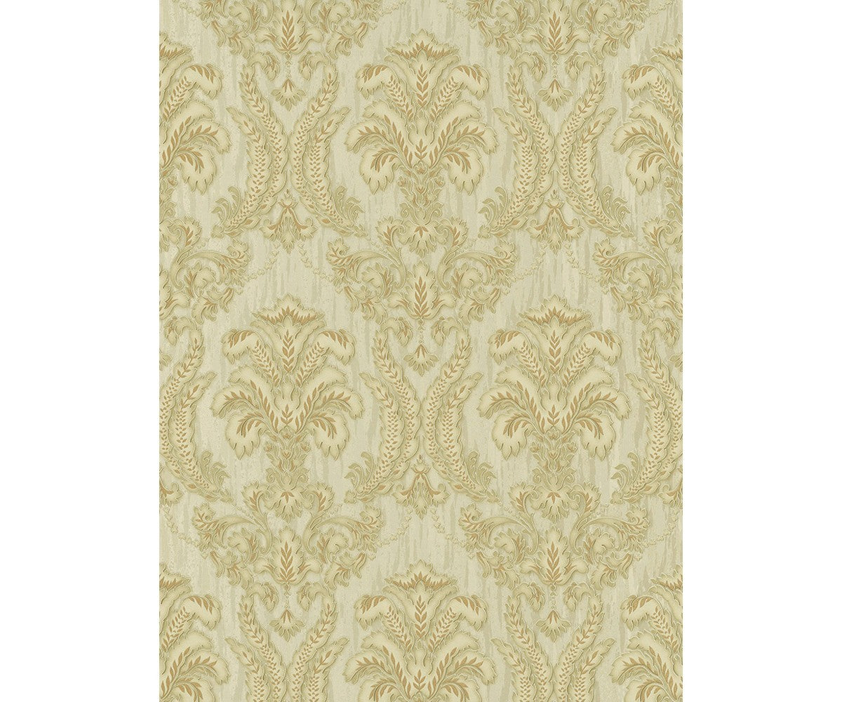 Ornamental Damask Gold 5780-30 Wallpaper