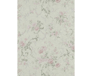 Textured Petite Floral Trail Rose Grey 5788-35 Wallpaper