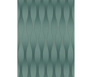 Graphics 3D Illusion Teal 5802-18 Wallpaper