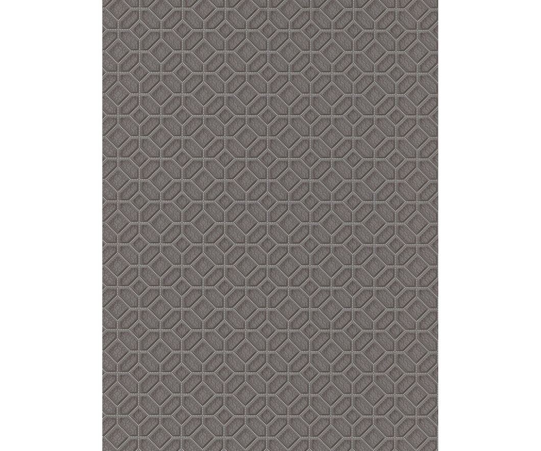 Graphics 3D Squares Taupe 5808-37 Wallpaper