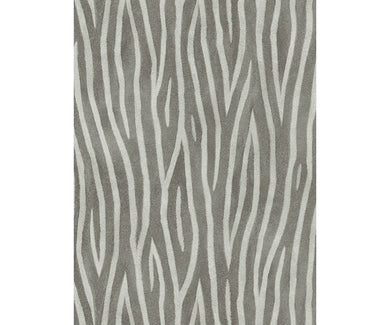 Zebra Skin Pattern Black 5905-15 Wallpaper