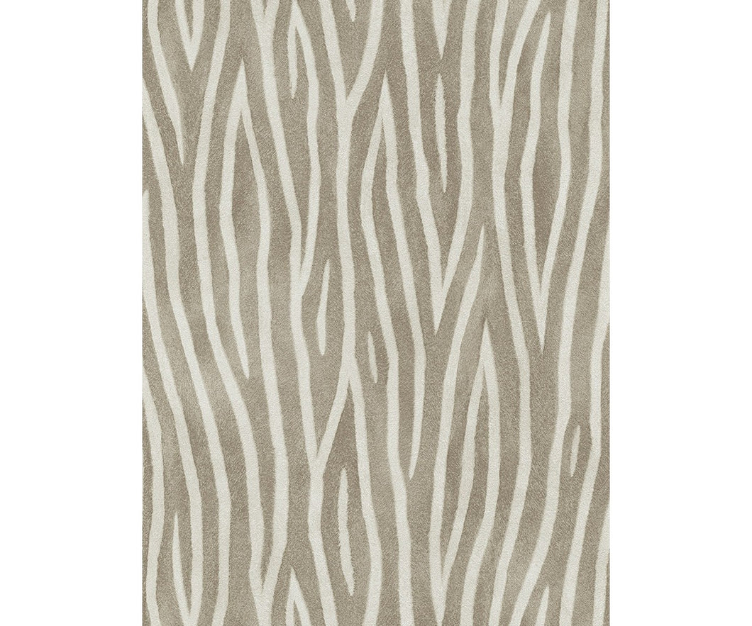 Zebra Skin Pattern Brown 5905-33 Wallpaper