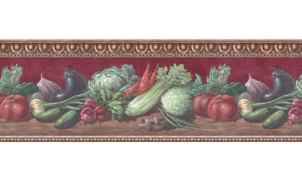 Vegetables B153222 Wallpaper Border