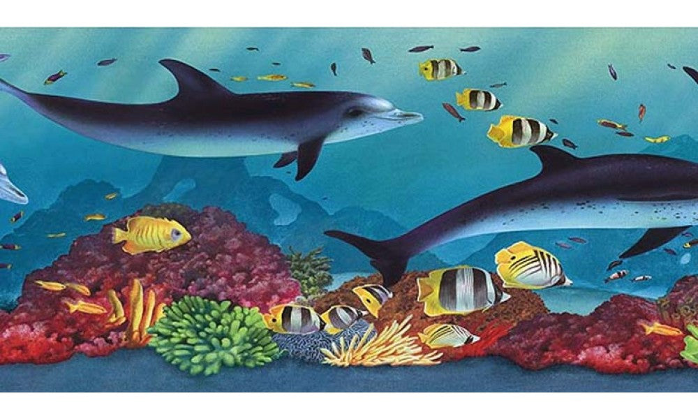 Acquarium PB58020B Wallpaper Border