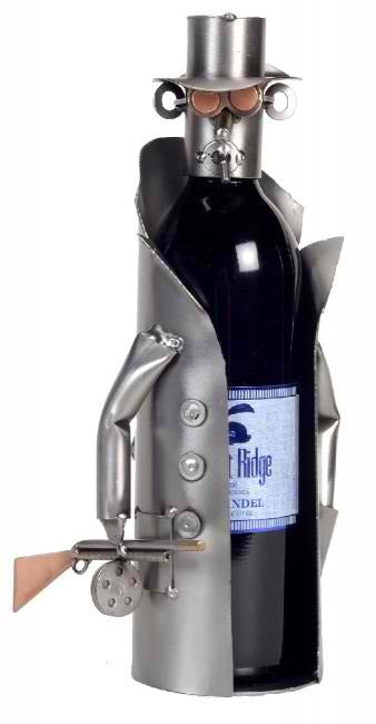 Wise Guy-Mobster Wine Bottle Holder