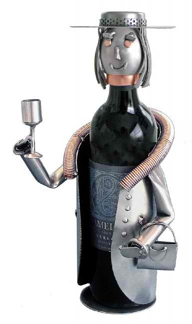 Sophisticated Lady Wine Bottle Holder