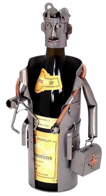 Doctor Male Wine Bottle Holder