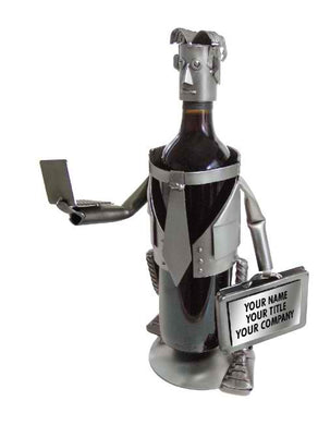 Executive-Male Wine Bottle Holder