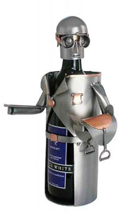 Equestrian Male Wine Bottle Holder