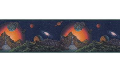 Planets CT102250B Wallpaper Border