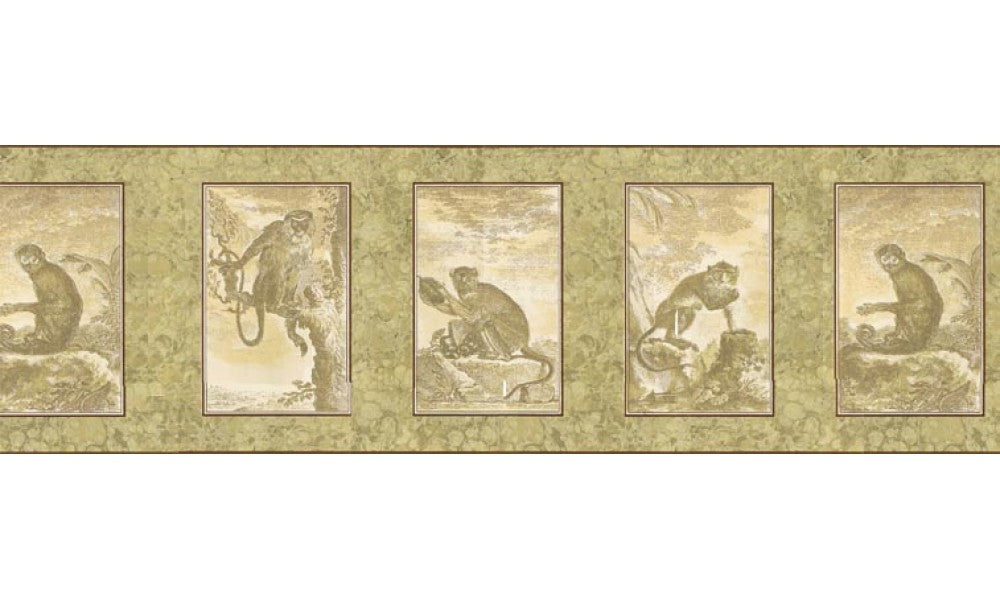 Animals b545493 Wallpaper Border