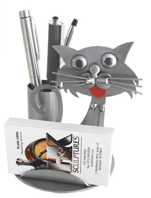 Cat Business Card Holder