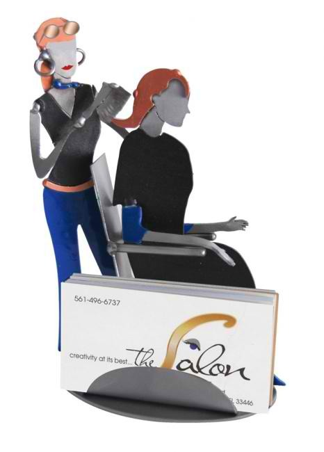 Hair Stylist Business Card Holder