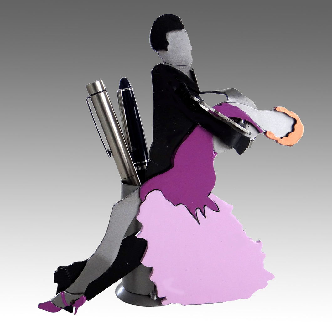 Ballroom Dancers Pen Holder