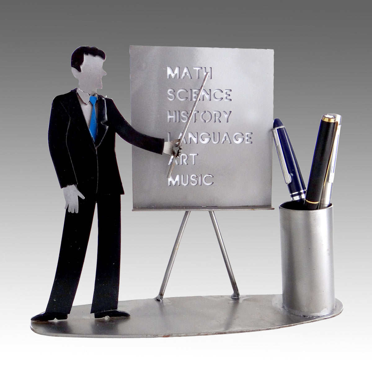 Teacher Male Pen Holder